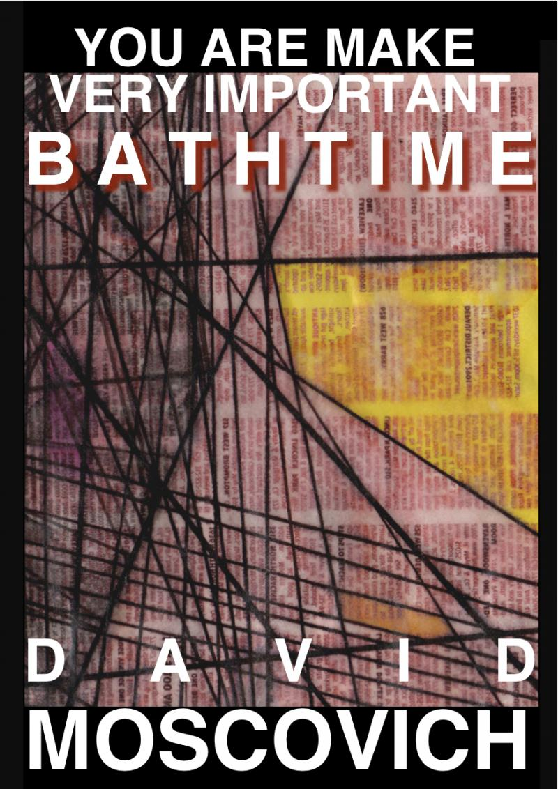 David Moscovich, You Are Make Very Important Bathtime (JEF BOOKS 2013)